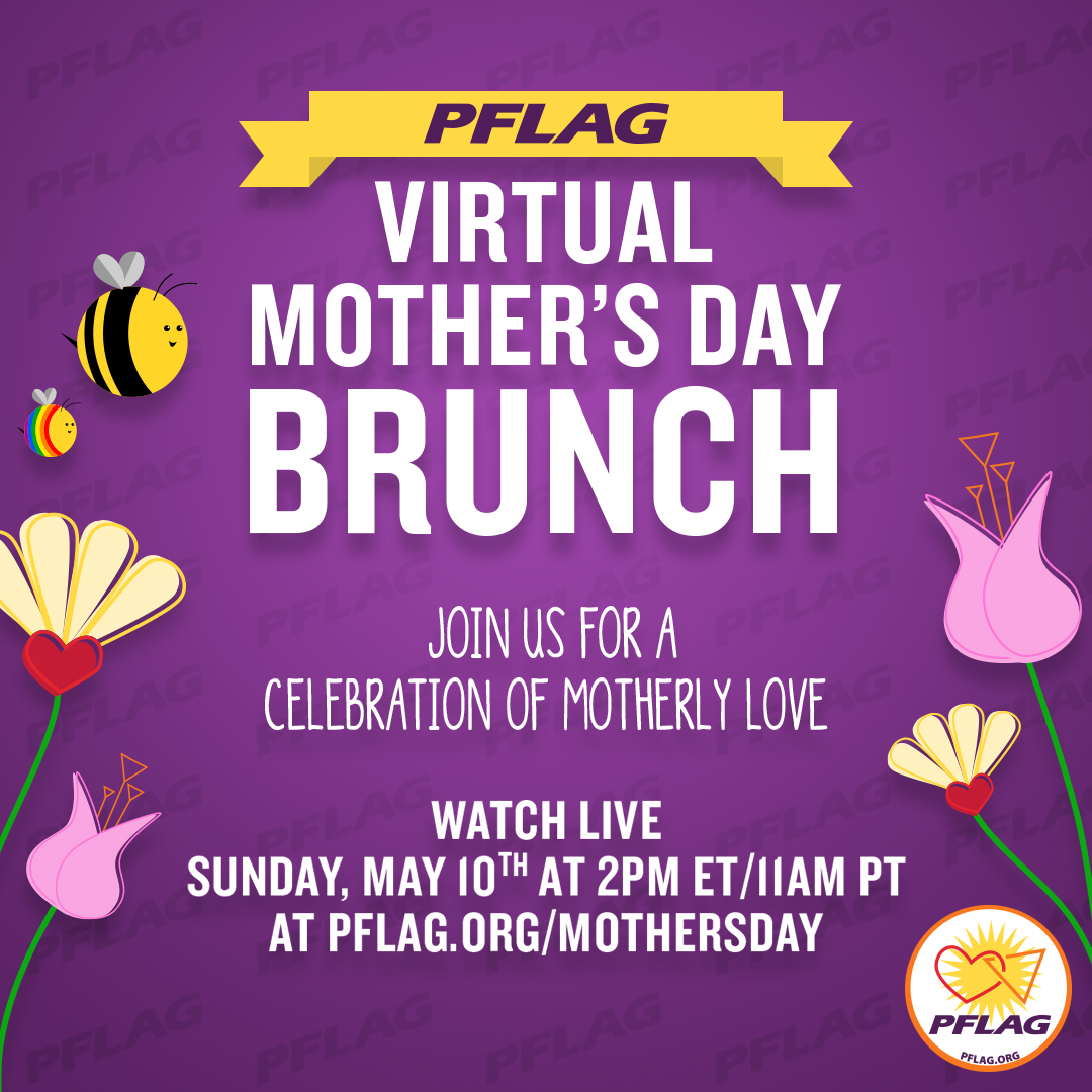 Mothers Day Brunch Social Rainbow Bee
