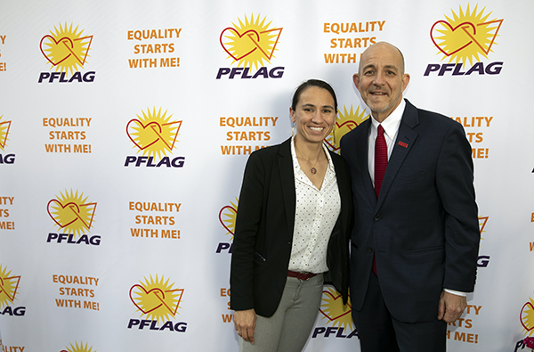 Brian Bond and Sharice Davids