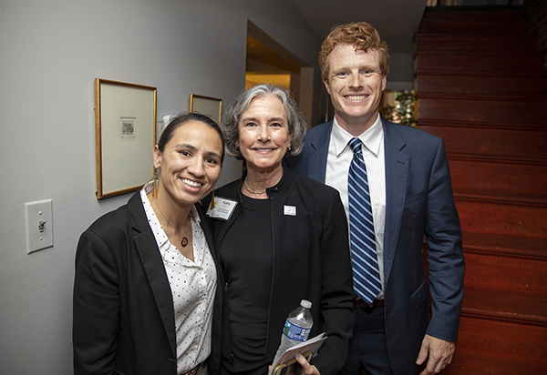 Sharice Davids Kathy Godwin and Joe Kennedy