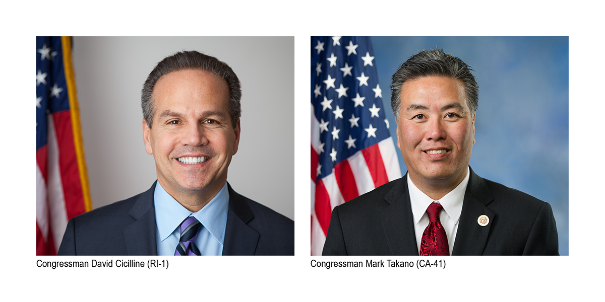 Cicilline and Takano